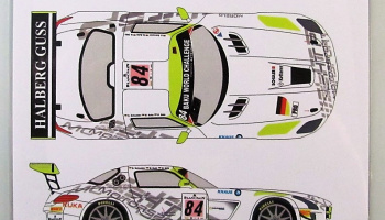 Mercedes SLS GT3 #84 Spa 24h 2013 - Racing Decals 43