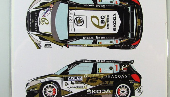 Skoda Fabia S2000 #1 Rally 2015 - Racing Decals 43