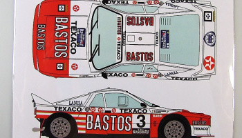 Lancia 037 Bastos #3 Rally Van Haspenqouw 1985 - Racing Decals 43