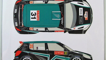 Skoda Fabia S2000 #31 Rally Portugal 2012 - Racing Decals 43