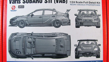 Varis Subaru STi Full Detail Kit - Hobby Design