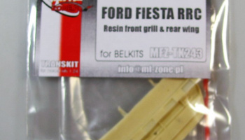 Ford Fiesta RRC Resin Front Grill, Rear Wing - MF-Zone