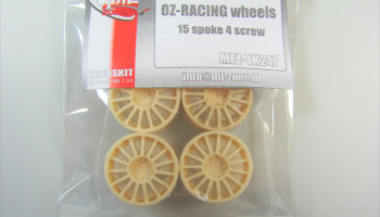 OZ-Racing Wheels 15 Spoke 18inch - MF-Zone