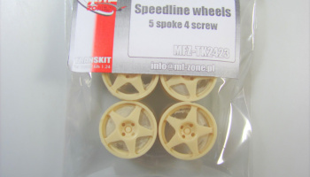 Speedline Wheels 5 Spoke 18inch - MF-Zone