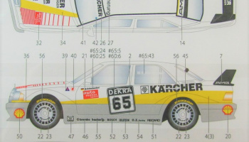 Mercedes Benz 190E AGM Karcher DTM 1990  - Studio27