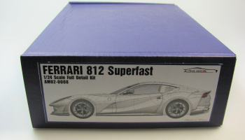 Ferrari 812 Superfast Full Resin Kit 1/24 - Alpha Model