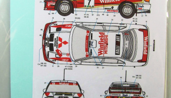 Mitsubishi Lancer EVO III Winfield - Decalpool