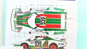 Lancia Stratos Turbo Alitalia - Decalpool