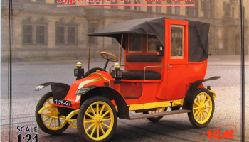 Type AG 1910 Paris Taxi - ICM