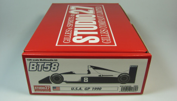 Brabham BT58 GP USA - Studio27