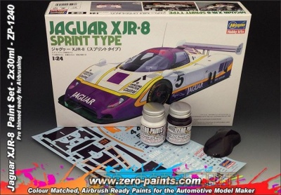 Jaguar XJR-8 Paint Set 2x30ml - Zero Paints