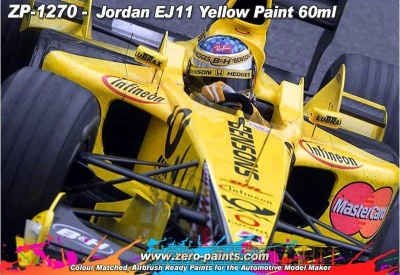 Jordan EJ11 Yellow Paint - Zero Paints
