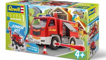 Junior Kit auto 00804 - Fire Truck (1:20) - Revell