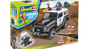 Junior Kit auto 00807 - Offroad Vehicle Police (1:20)