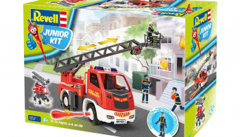 Junior Kit auto 00823 - Fire Truck - Ladder Unit (1:20) - Revell