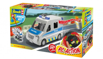 Junior Kit auto 00972 - Police Van (1:20)
