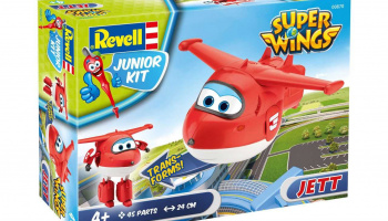 Junior Kit letadlo 00870 - Super Wings Jett (1:20)