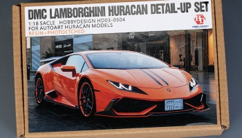 DMC Lamborghini Huracan Detail-UP Set For Autoart Huracan Models - Hobby Design