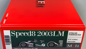 Speed8 2003 LM Fulldetail Kit 1/24 - Model Factory Hiro
