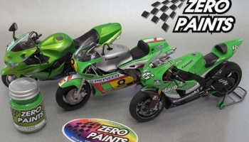 Kawasaki Candy Green - Zero Paints