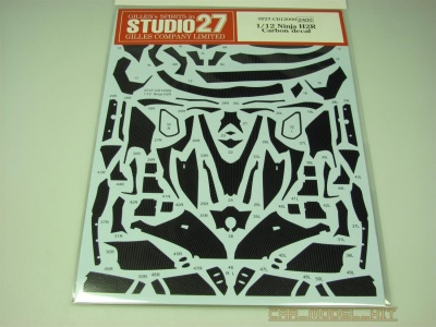 Kawasaki Ninja H2R Carbon decal (for TAM) - Studio27