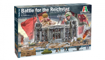 Model Kit diorama 6195 - Berlin 1945: Battle for the Reichstag (1:72) - Italeri