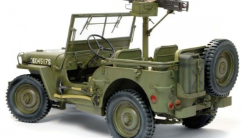 1/4-Ton 4x4 Truck w/M2 .50-cal Machine Gun 1:6 - Dragon