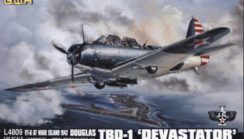 Douglas TBD-1 Devastator VT-6 at Wake Island 1942 (1:48) - Great Wall Hobby