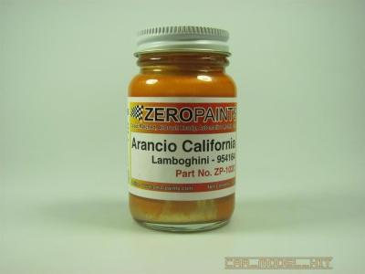 Lamborghini Arancio California - Zero Paints