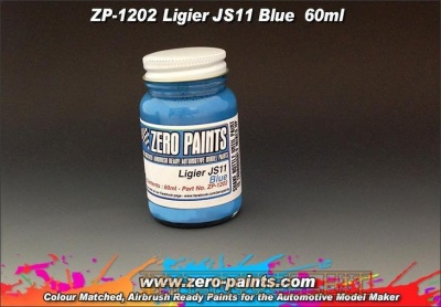 Ligier JS11 Blue 60ml - Zero Paints