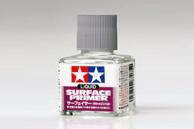 Liquid Surface Primer 40ml - Tamiya