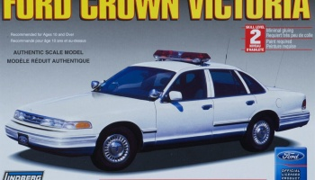 Ford Crown Victoria State Police Car - Lindberg