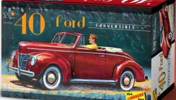 Ford Convertible Car 1940 - Lindberg
