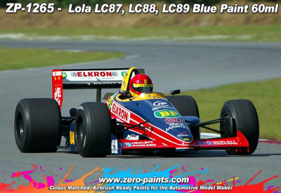 Lola LC87, LC88, LC89 Blue Paint - Zero Paints