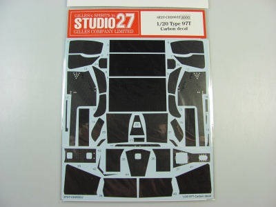 Lotus 97T Carbon Decal - Studio27