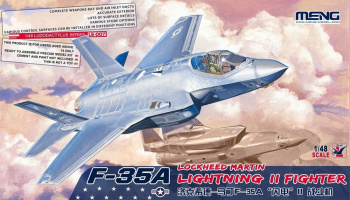 Lockheed F-35A Lightning II 1/48 - Meng Model