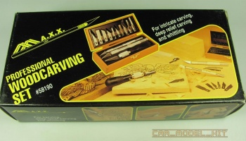 Professional woodcarving set - MAXX