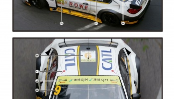 BMW M6 GT3 FIA GT Option  - SKDecals