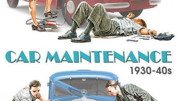 CAR MAINTENANCE 1930-40S 1/35 - MiniArt
