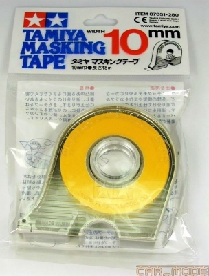 Masking Tape 10 mm w/Dispenser - Tamiya