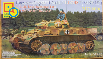 PzKpfw. II Ausf. L Luchs 9th Panzer Division 1/16 - Classy Hobby