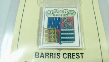 Barris Crest (Photo Etched) - Model Car Garage