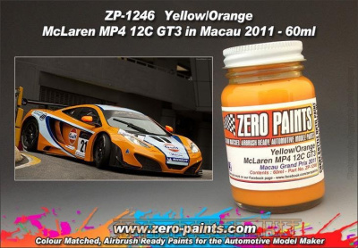 McLaren MP4-12C GT3 in Macau 2011 60ml (for Fujimi) - Zero Paints