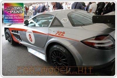 McLaren SLR - Coronadite Gray Metallic - DB 704 - Zero Paints