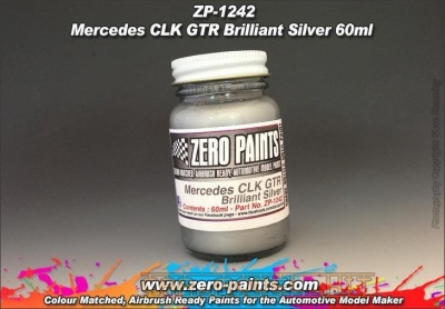 Mercedes CLK GTR Brilliant Silver (60ml) - Zero Paints