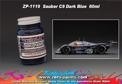 Mercedes Sauber C9 - Dark Blue - Zero Paints