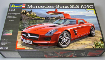 Mercedes SLS AMG (1:24) Plastic Model Kit 07100 - Revell