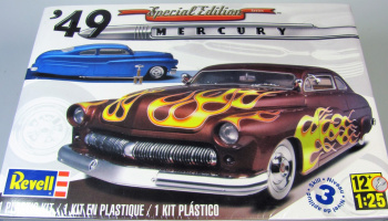 `49 Mercury Custom Coupe (1:25) Plastic Model Kit MONOGRAM 2860 - Revell