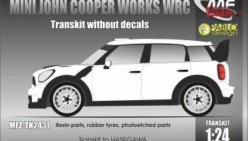 Mini Cooper WRC Conversion Without Decals - MF-Zone