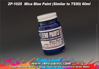 Mica Blue Paint (Similar to TS50) - Zero Paints